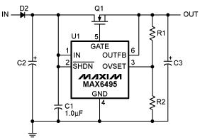過壓保護電路額外應用的電路設計