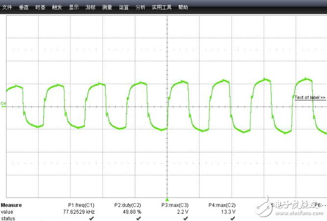 移相全桥+UCC28950原边电流波形有大小波