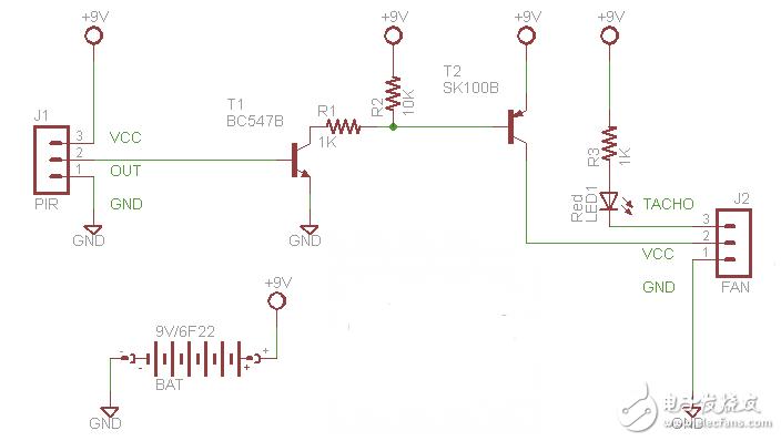 【每天看电路第104期】PIR控制电路