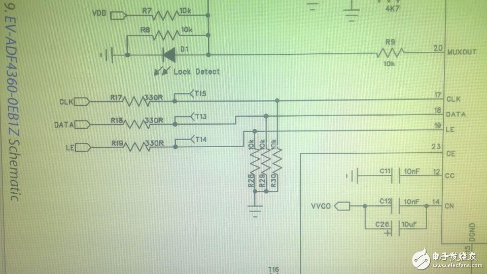 在这个电路中330R串联式什么作用?