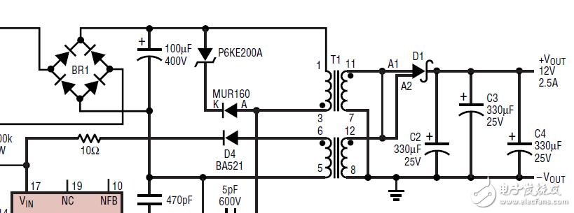 图中变压器怎么理解?