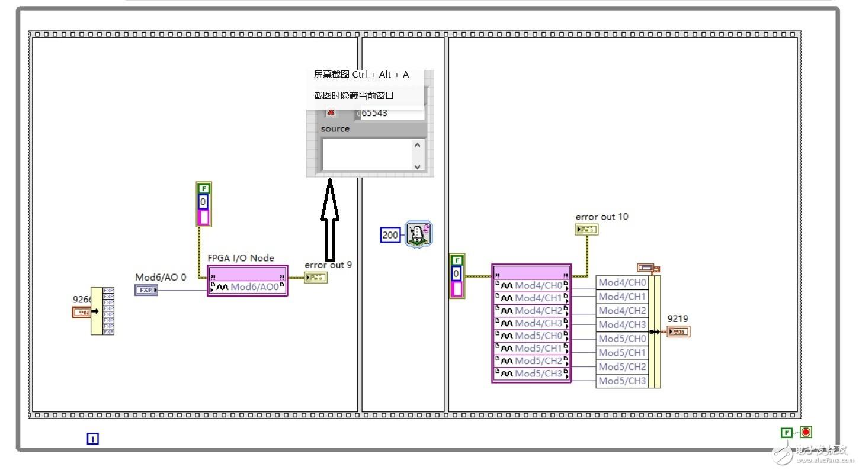 cRIO电流输出板卡9266,输出时返回错误码 65543是什么意思,如何解决?