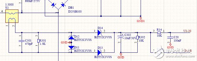 基于互感器的电流采样电路的疑问