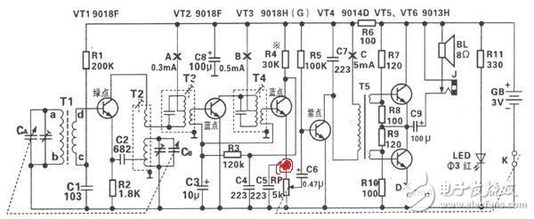 6管收音机电路改装问题