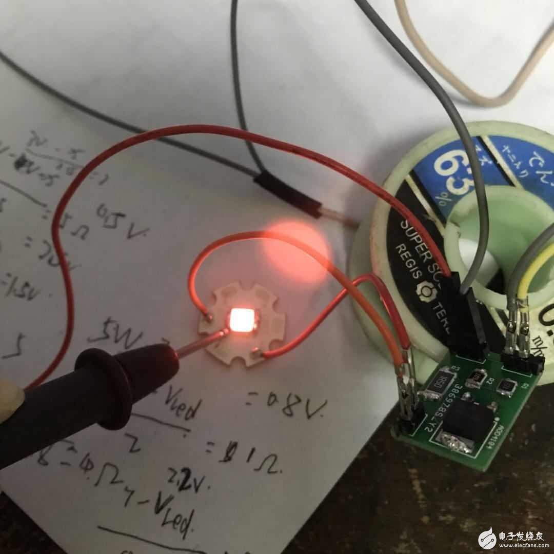 关于AOD4184驱动板led灯不亮
