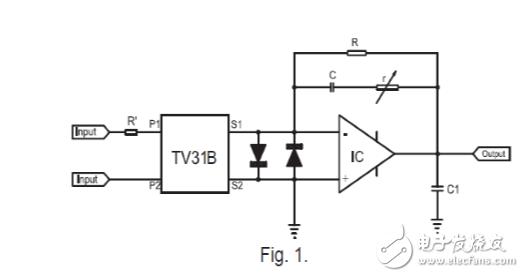 运放I/V电路中,移相电容值该如何选取?