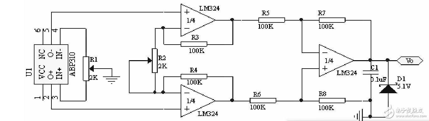 对于一个信号放大电路 放大倍率计算的疑问