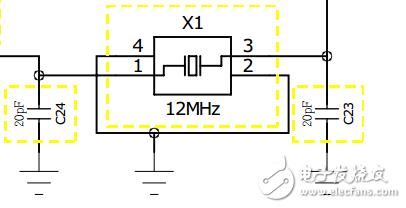 有源晶振有时为什么也会加上两个匹配电容?