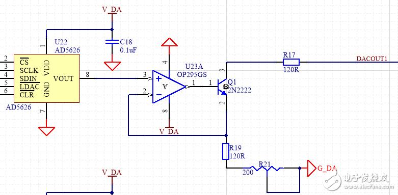 请问这个4-20mA电流信号输出电路有为什么最大只能输出16mA?