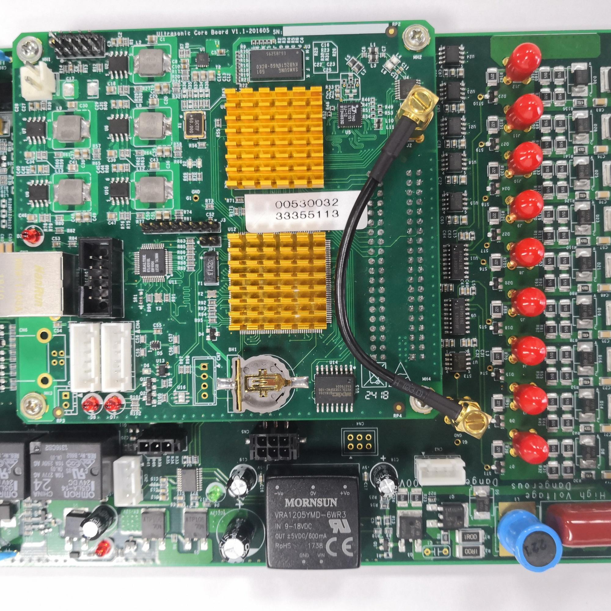 基于ARM和FPGA的嵌入式多通道超声波高速信号采集开发套件