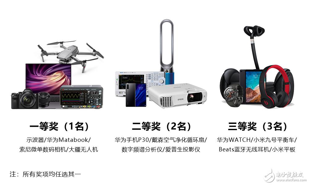 华秋开发者设计大赛第一季 - 电源设计大赛正式启动!!!