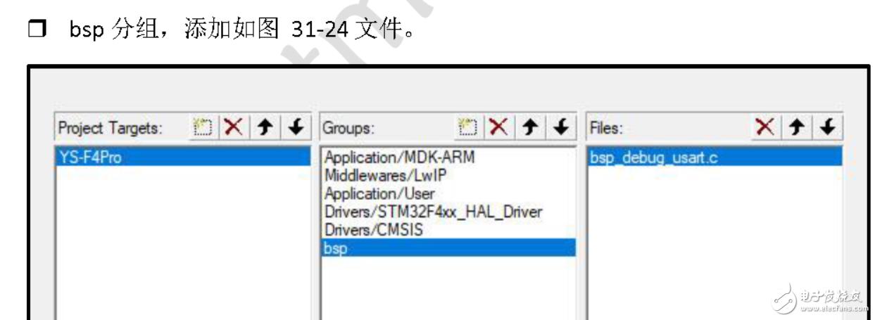 請問STM32以太網模塊配置添加bsp文件是通過keil軟件生成的嗎?