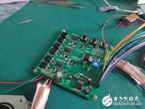 32驱动有感BLDC  驱动板烧芯片问题