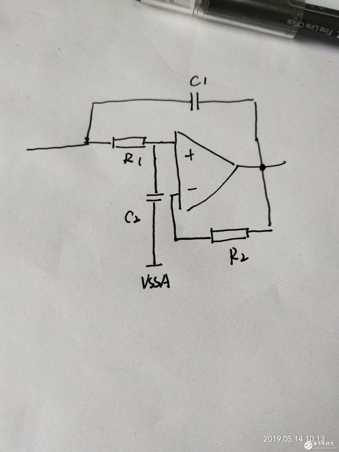 拜托大家帮忙看一个运放电路,不知道这是起作用的