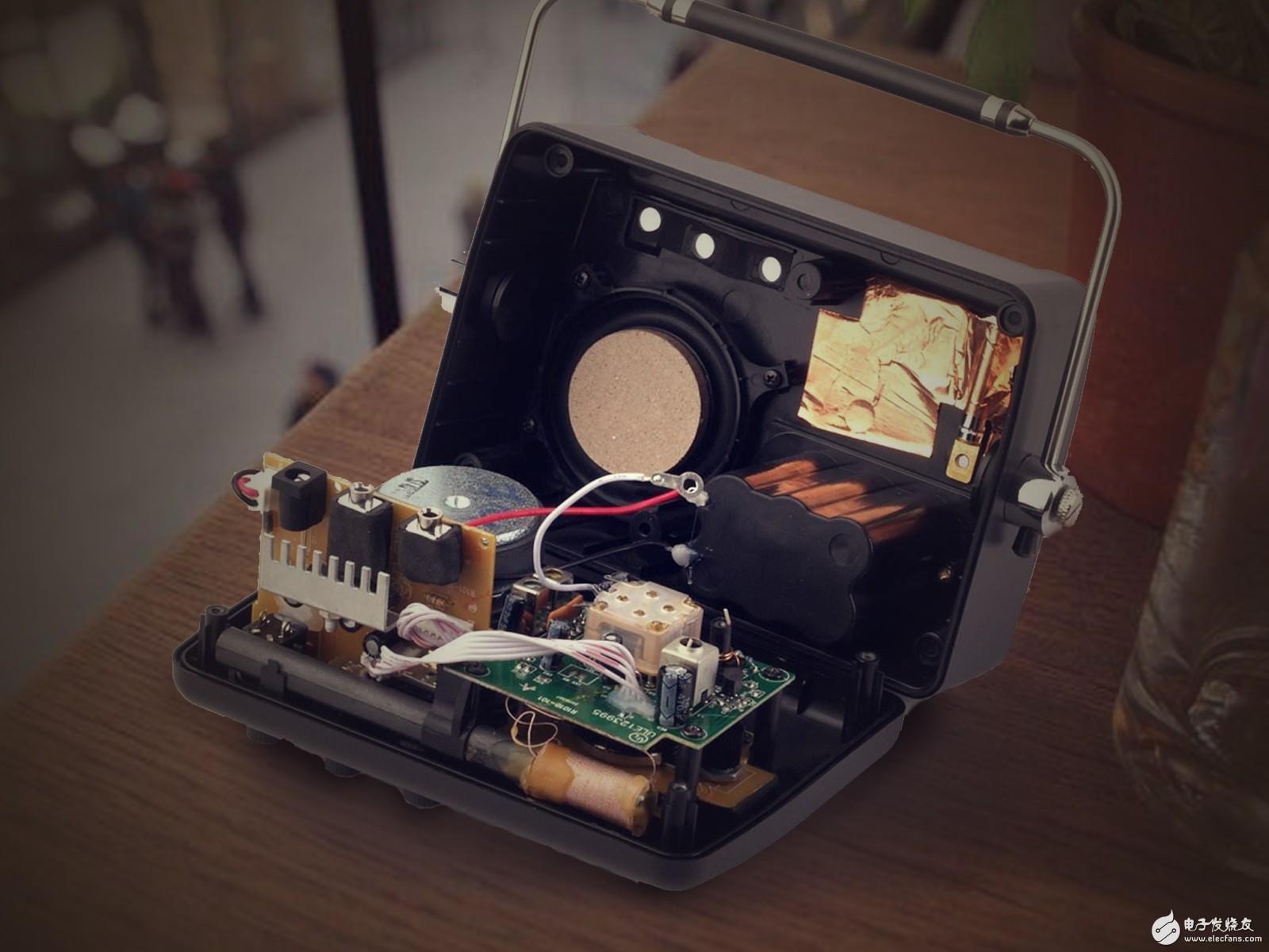 儿时的梦想---DIY全分立FM收音机