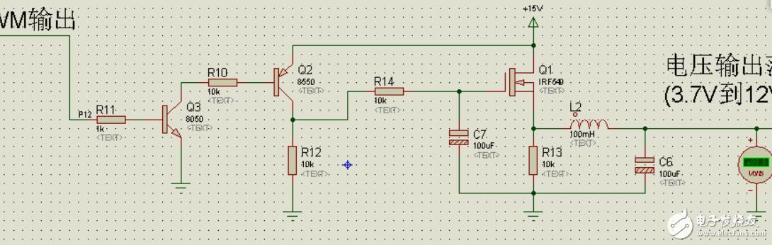 求问,为什么要用PNP和NPN两个三极管做开关电路驱动mos管?原理是什么?