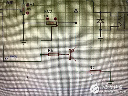 水位传感器电路R6,R7以及三极管具体有什么作用