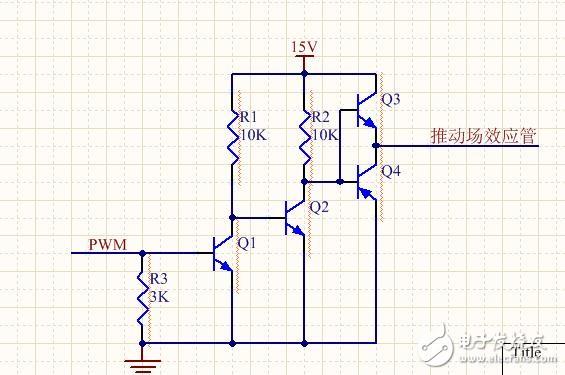 如图,Q3Q4这个电路是不是画错了