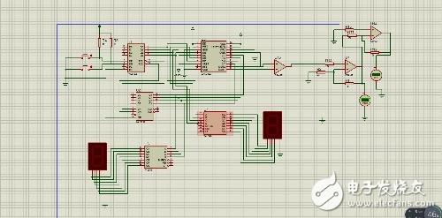数控直流稳压电源问题,启动仿真后电压表一直没有输出值