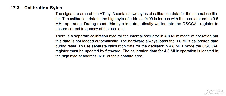 [ATMEL TINY13 校验字节]有没有哪位兄弟用过tiny13这款单片机,我想了解一下校验字节的相关特性