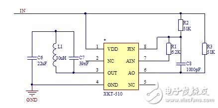 想求教一下无线充电xkt-510电路图的工作原理,所连接的电阻有什么作用,该图如下。