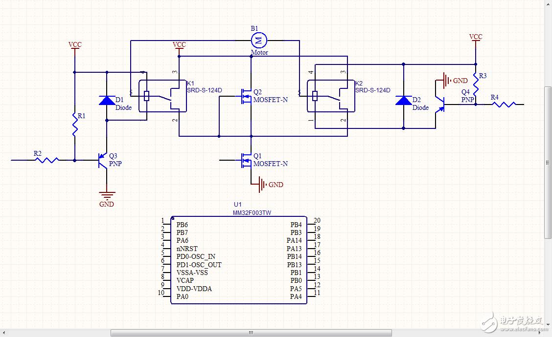 MCU控制PWM也足以�π纬芍旅�