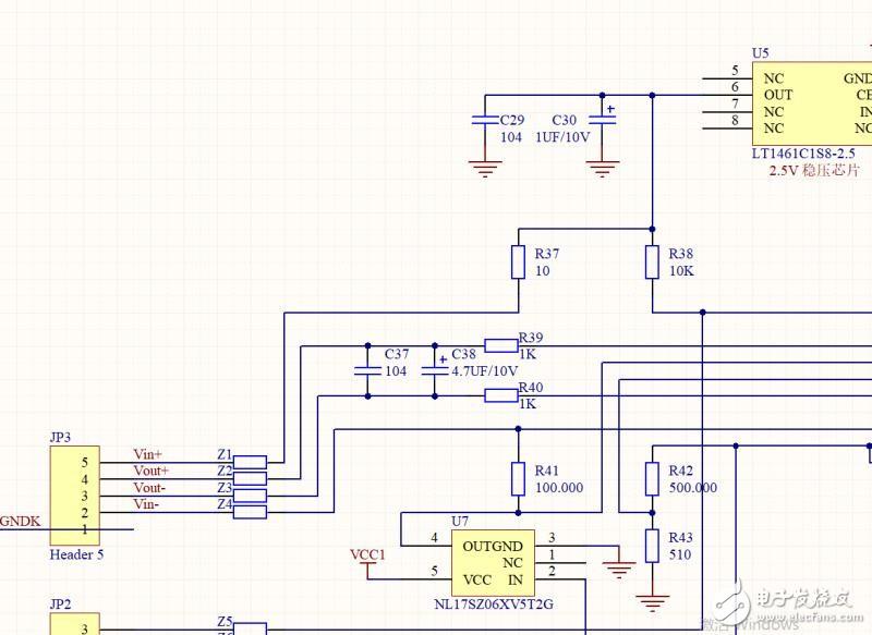 求助各位大佬分析一下此电路中的电源供电部分