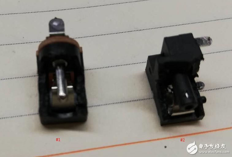 dc005插座怎么消除上电冒火花问题