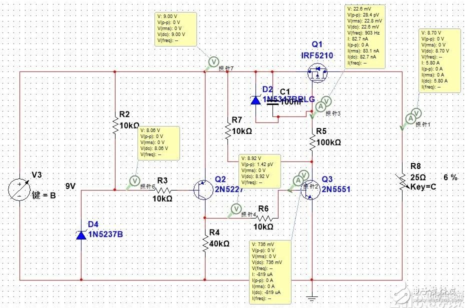 低電壓斷電保護電路無法實現高電壓恢復輸出的問題