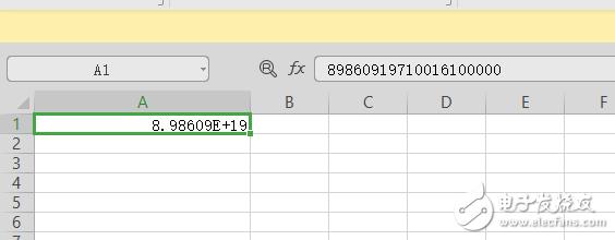 labview保存Excel文件,20位數值字符串會丟失掉后面5位