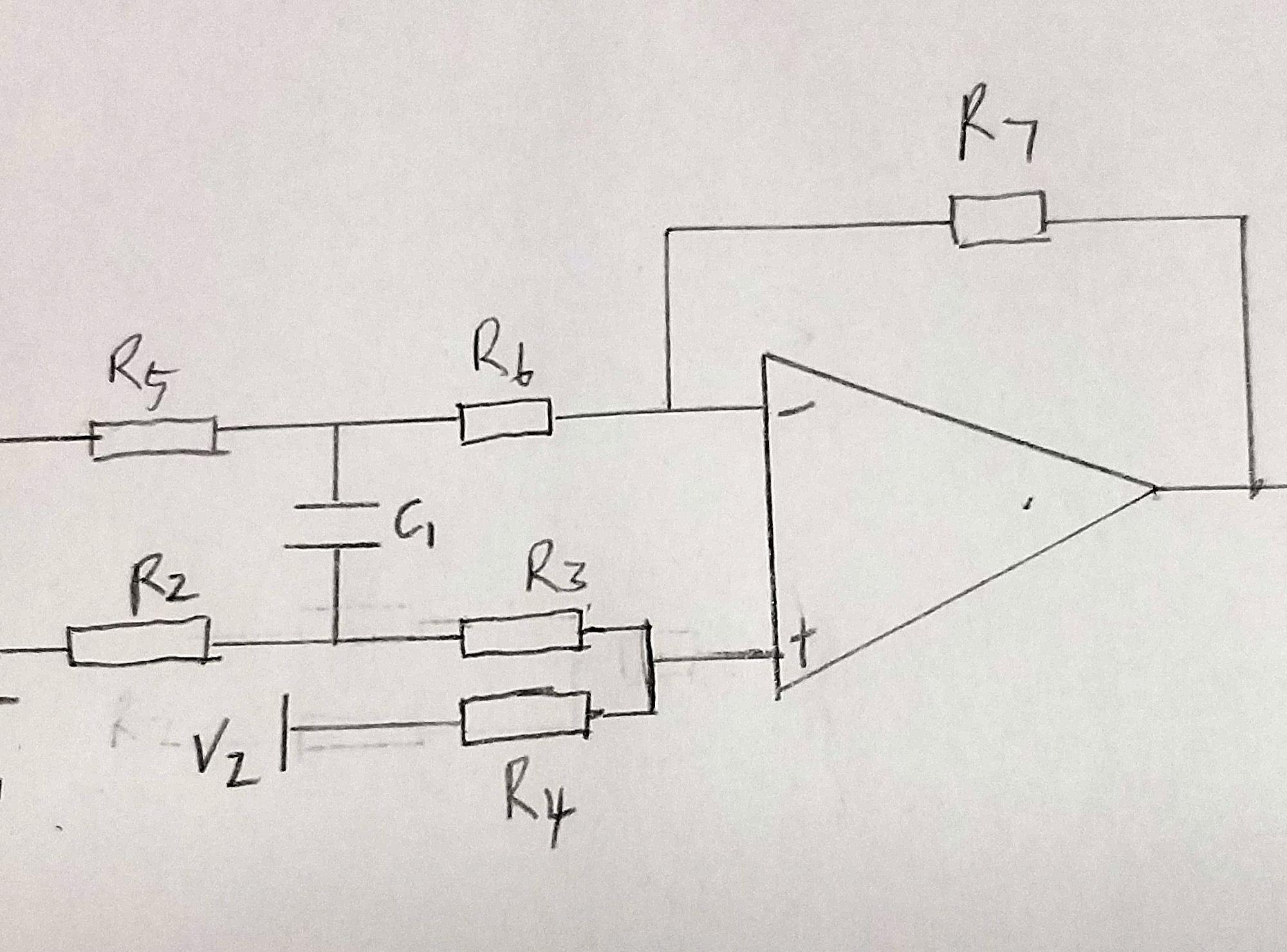 请看图,这个运算放大电路如何分析?