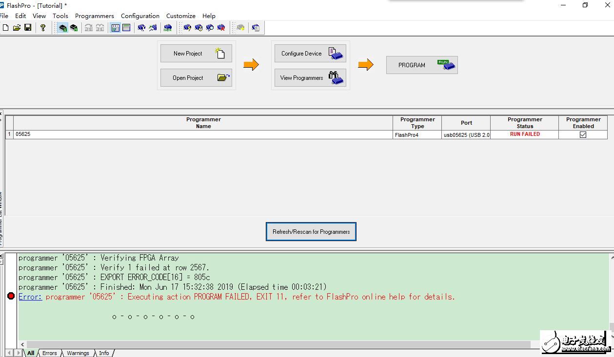 ErrorCode:805c , EXIT 11的修复方法