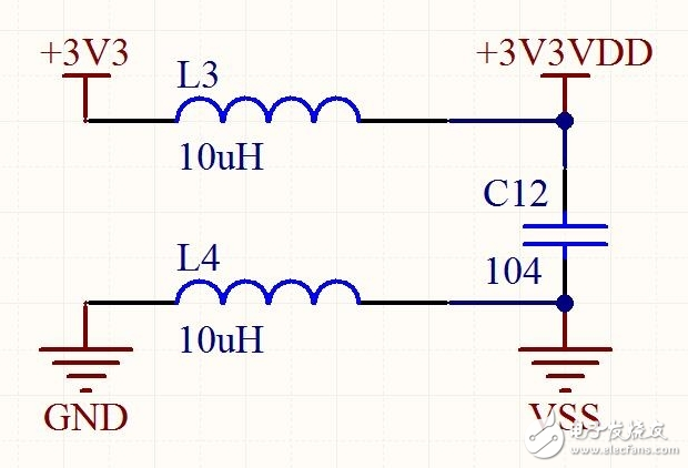 请问这里的滤波电路的滤波原理是什么?