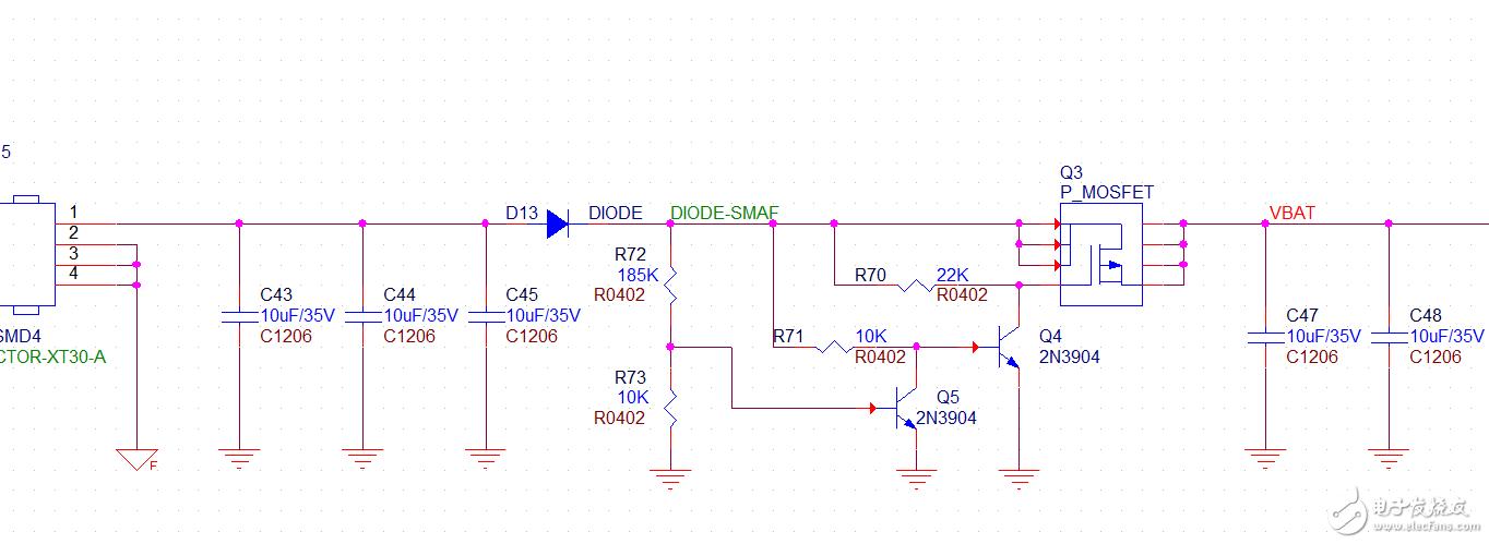 有人用过这种简单的过压?;さ缏仿??这种电路长时间使用有没有什么隐患?