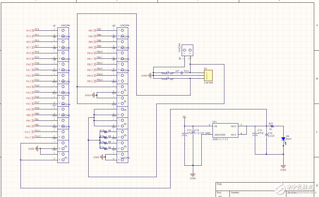 如何修改电路使24V的输入得到5V 的输出?