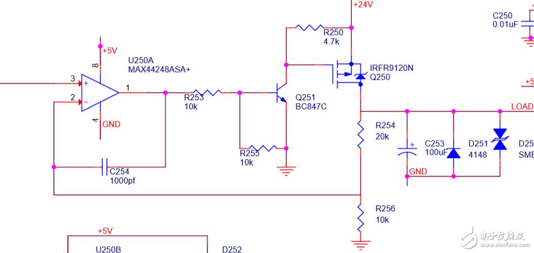 运放、mos、三级管电路设计问题