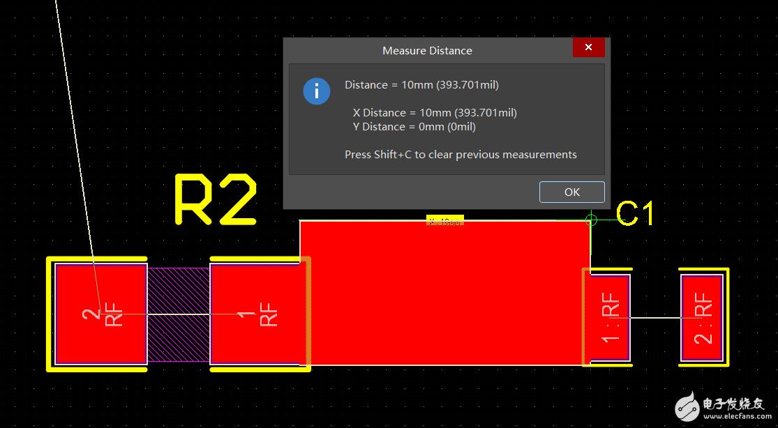 ADS仿真PCB电路,其中微带线跟元件焊盘是否存在冲突