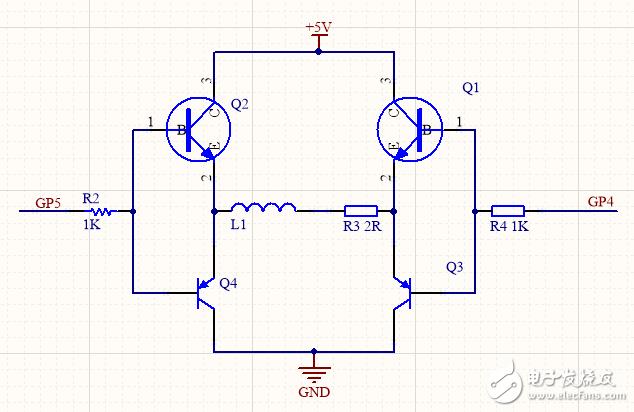 请问大家图中H桥电路的反向电动势会先打坏单片机的IO还是三极管?