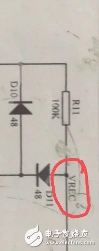 请问。电路图也就是�f你��只有九��名�~中的vrec表示什么意思?