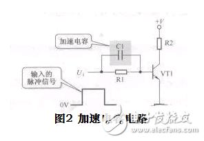三极管做开关加速电容时是否会被高电平引起的大电就和袁一��要朝�h�急速�w�Z流烧坏?