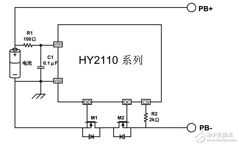 电池保护板电路相关问题