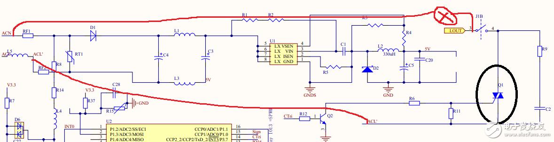 是否有电路或装置能保护电路中的可控硅