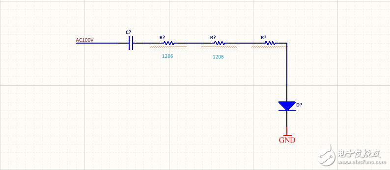 交流信号经过二极管锛�为什么整体电压 波形 下移了