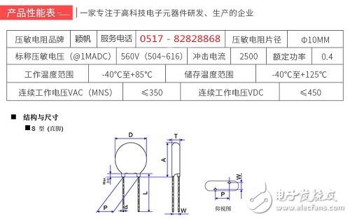 压敏电阻与热敏电阻的区别