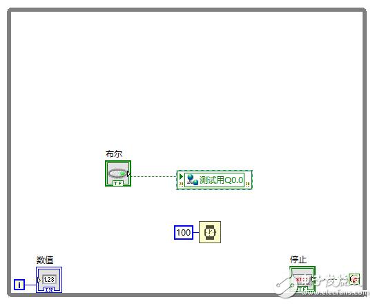 关于labview使用modbustcp与PLC通讯的问题