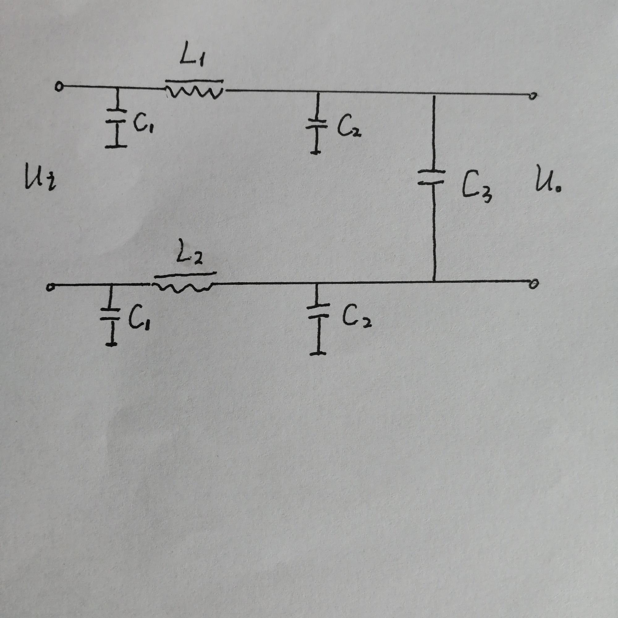 如何求下面电路的传递函数