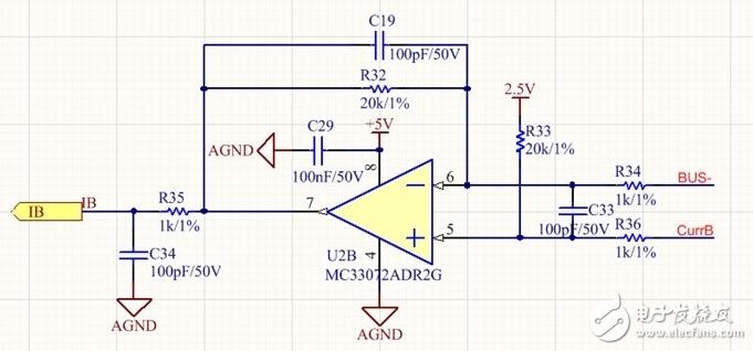 运放电路在电流为零的时候输出饱和,请问如何分析?