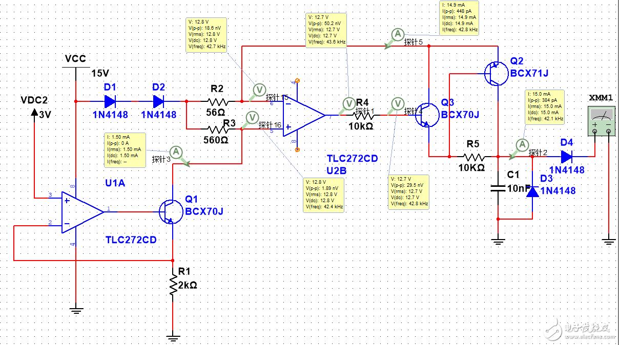请问这个0-20ma输出电路的工作原理