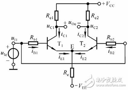 请问关于输入共模信号的差分放大电路问题