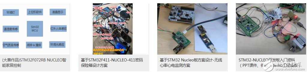 22个有趣新颖的STM32作品项目资料,提高单片机设计技能!